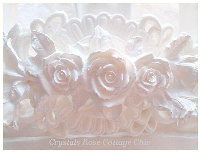 "Bella Rose Baroque Bed Crown 22.5"" x 19"" ...Color Options"