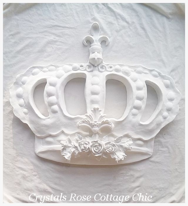 Bella Rose Baroque Cross Bed Crown...Color Options