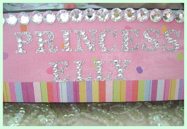 Pink Birthday Frame  can be personalized