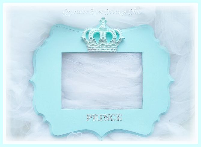 Crown Prince Frame....Personalization & Color Options