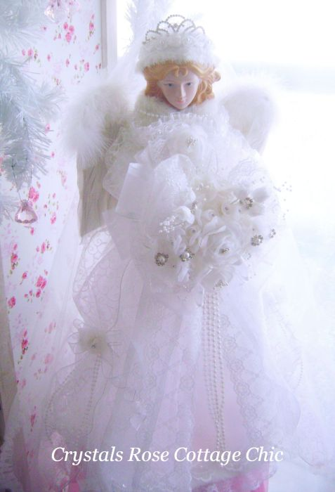 Winter White Bridal Angel