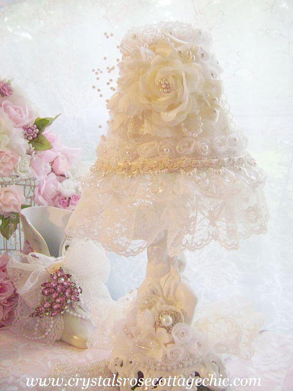 Embellished Cherub Lamp