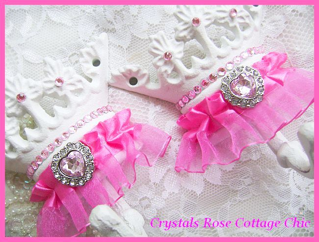 Hot Pink Princess Crown Hook