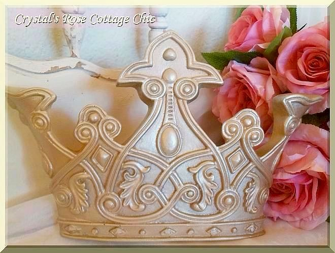 Silver Royal Bed Crown To Au