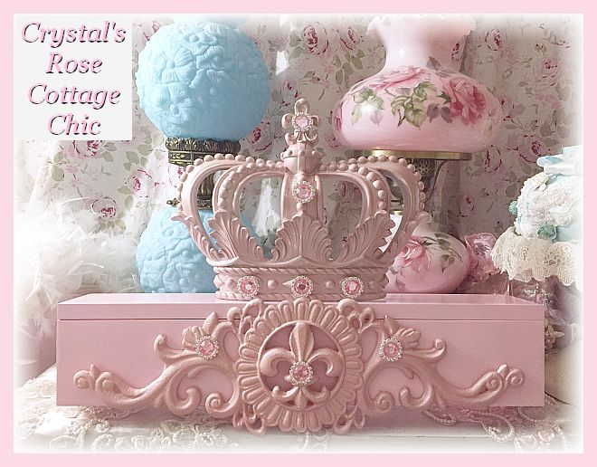Pink Princess Bed Crown Canopy Teester