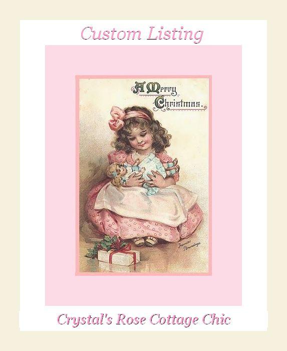 Custom Pink Christmas Listing