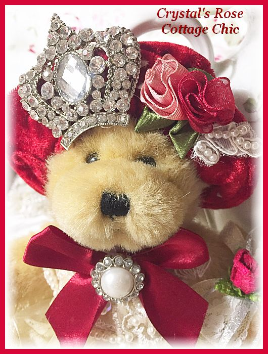 Christmas Princess Bear with Ornament Set