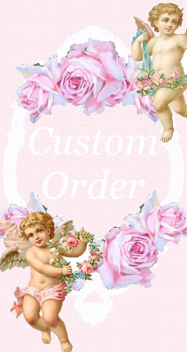 Custom Order White Rose Crown on Charming Teester