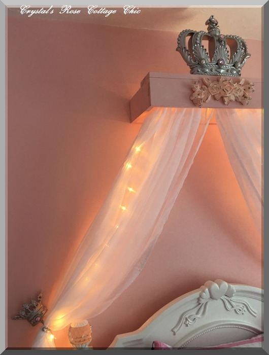 Bed Crown Canopy Lights