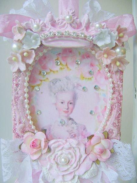 Fleur De Lis Marie Antoinette Ornament/Decor