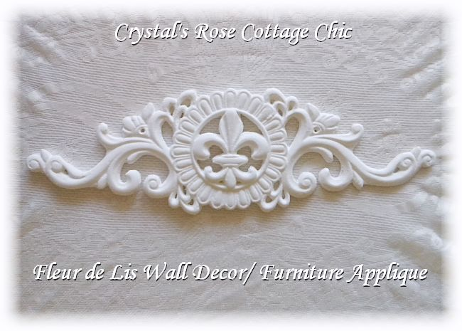 Fleur de Lis Applique / Wall Decor