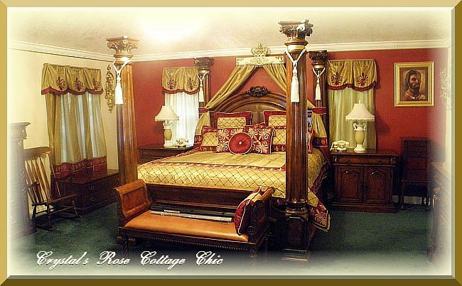 """French Flourish 30"""" Bed Crown Teester Canopy...Color Choices"""