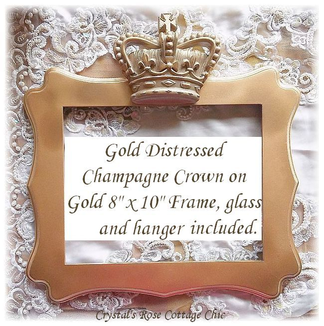 British Crown Frame...Color Choices