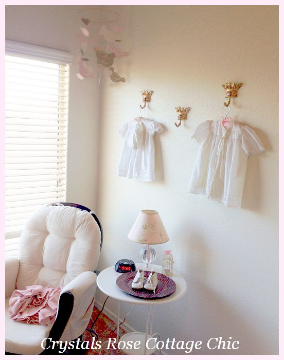 Crown Hooks Wall Decor Prince Nursery Princess Room