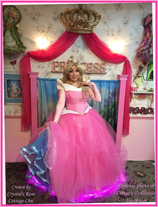 Princess Party crown Wall Decor PhotoProp