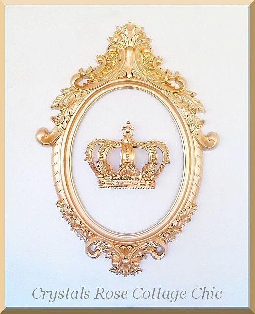 """Ornate Oval Scatter Frame 34"""" x 24"""""""