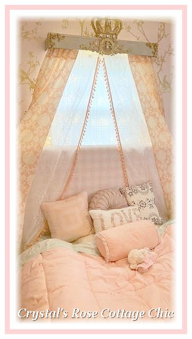 gold bed crown canopy cornice