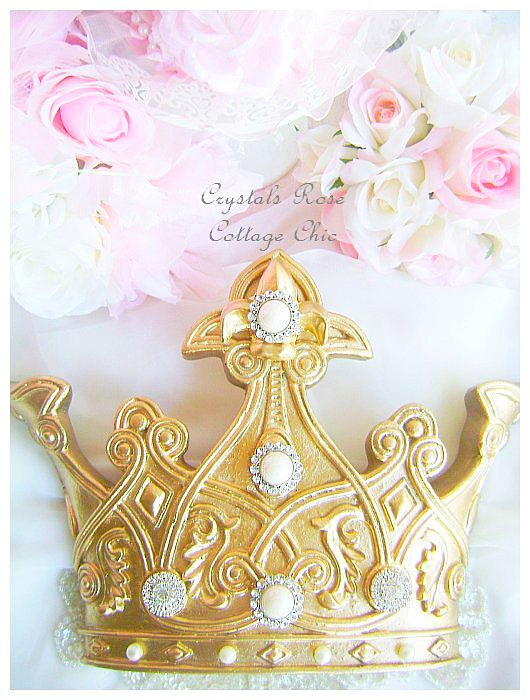Golden Dream Fleur de Lis Luxury Crown
