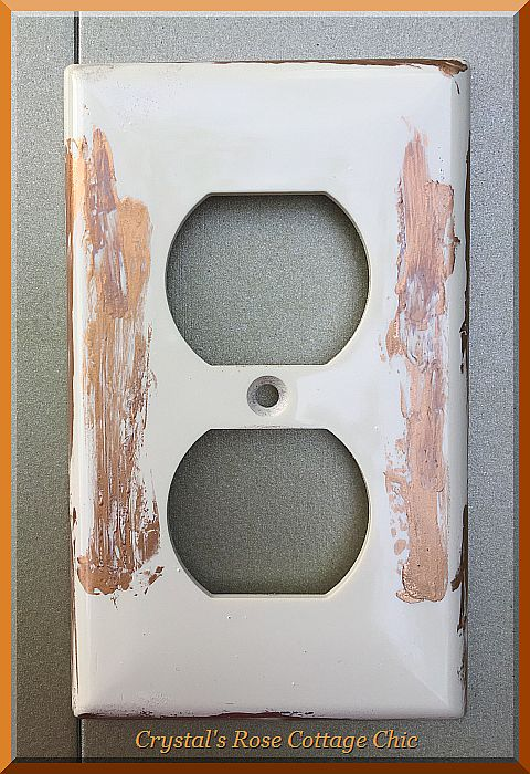 Distressed Outlet Cover...Color Options