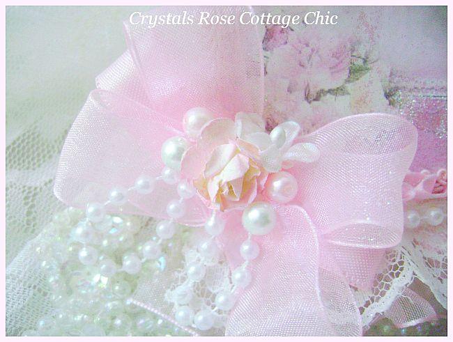 La Belle Victorian Girl in Pink Card