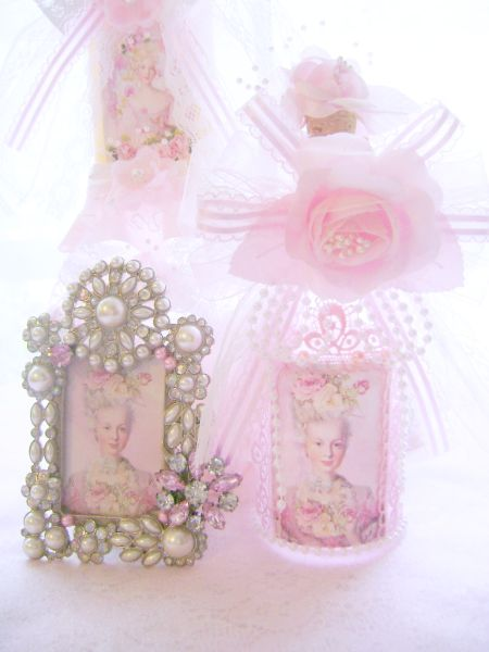 Chic Pink Marie Bottle