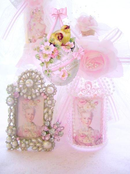 Chic Pink Marie Antoinette Frame