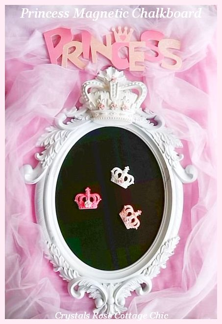 Princess Magnetic Chalkboard