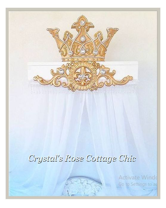 Custom Bed Crown Canopy Teester Order to Denmark