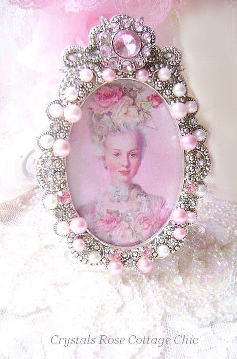 Embellished Marie Antoinette Frame