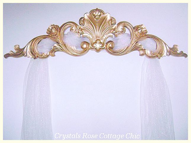 Gold Crown and Pediment