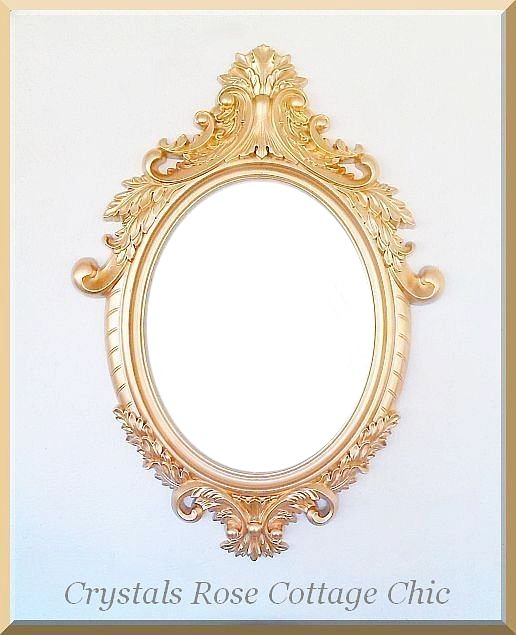 ornate oval scatter frame 34