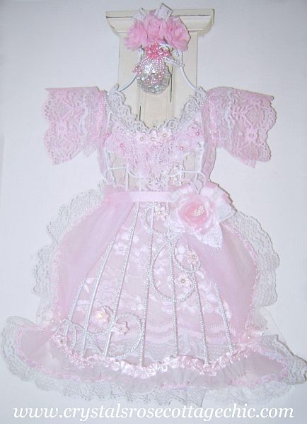 Petite Pink Princess Dress Form