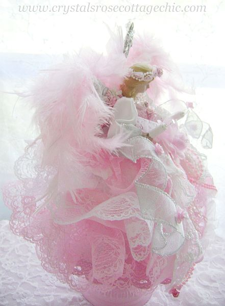 Pink Princess Angel Tree Topper
