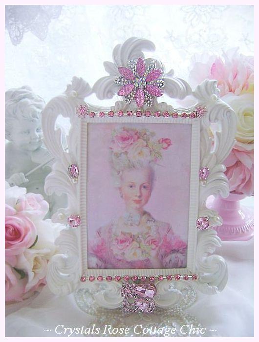 Pink Glam Bejeweled Frame