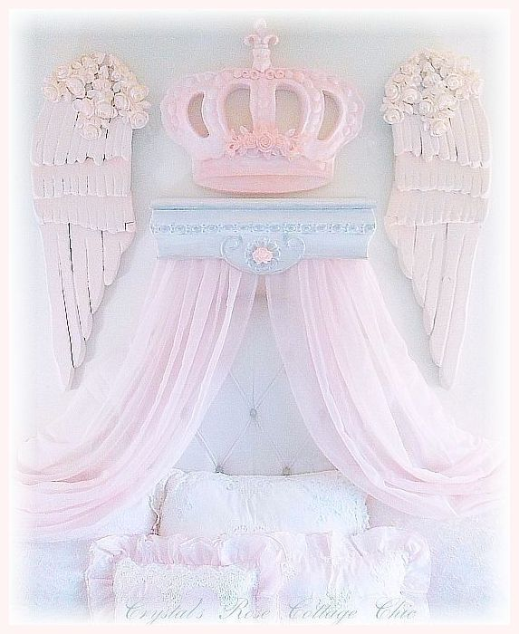 Shabby Rose Bella Baroque Crown...Color Choices