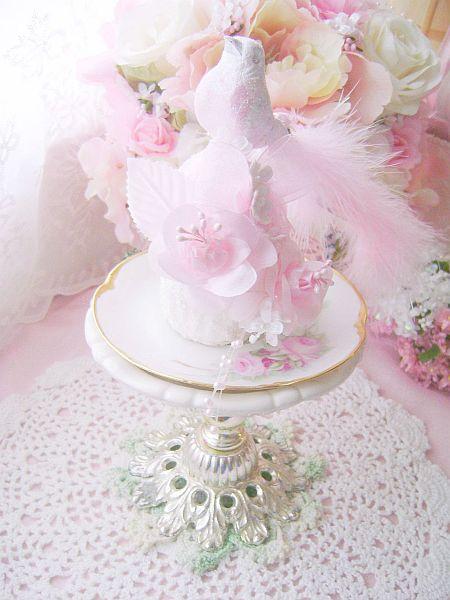 La Pink Fleur Cupcake Bird