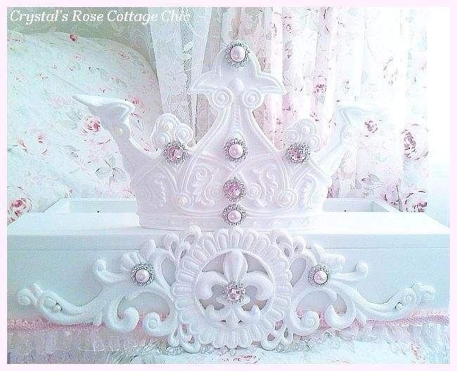 French Majesty Bed Crown Canopy Teester...Color Choices