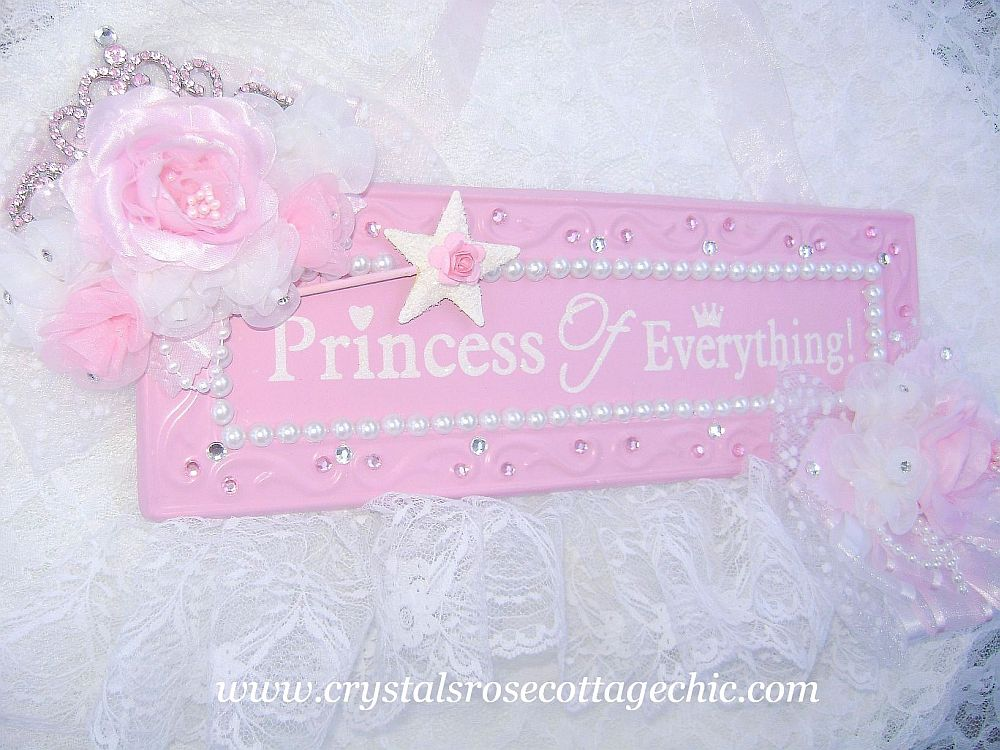 Pink Princess Hanging Decor