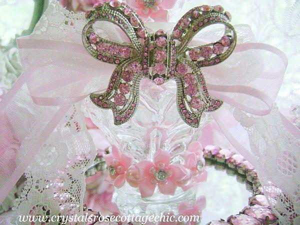 Pink Romance Vintage Perfume bottle