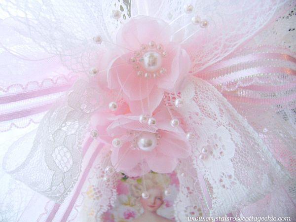 La Pink Fleur Marie Tag