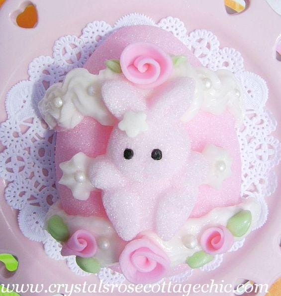 Pretty Pink Sugar Egg ...Easter