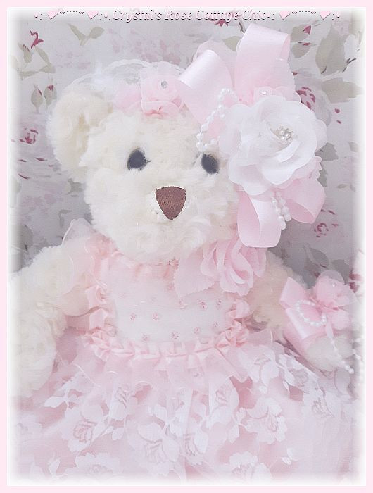 Shabby Chic Mon Ami Bear