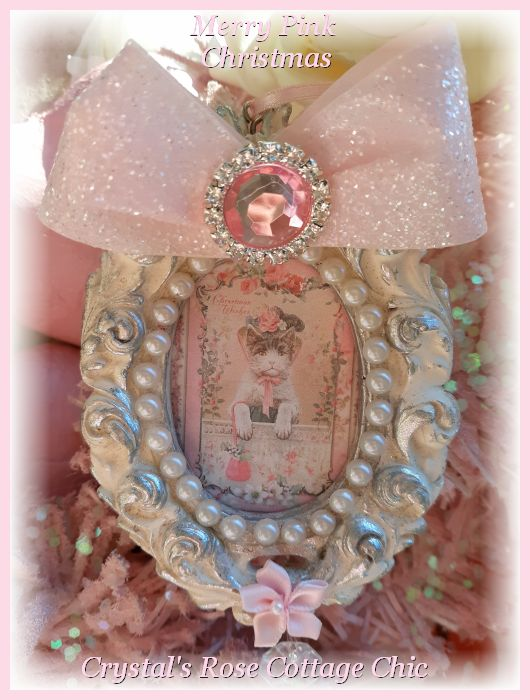 Vintage Kitty Cat Ornament