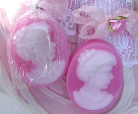 Romantic Cameo Soap