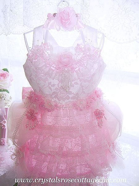Romantic Pink Passion Dress Form