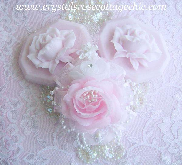 Romantique Pink Rose Soap