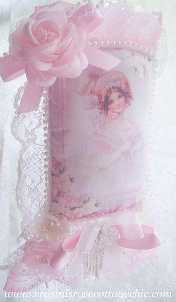 La Belle Pink Victorian Girl Sachet