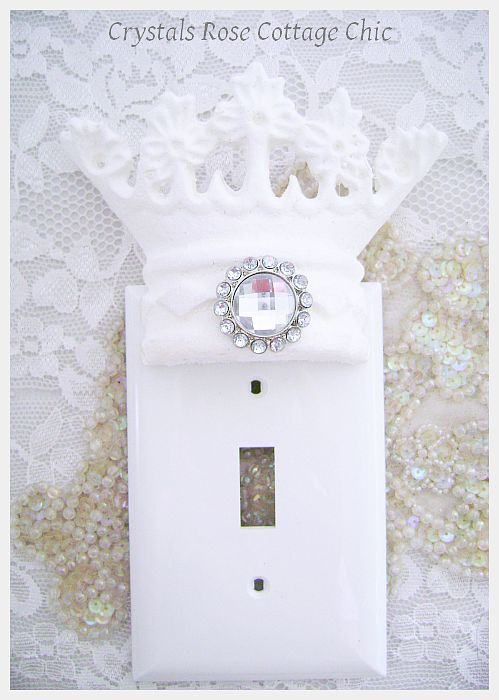 Princess Crown Wall Plate..Color Choices