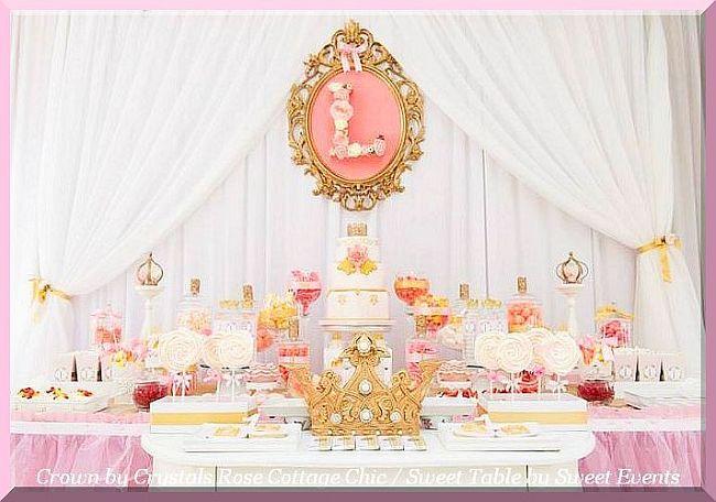 Dessert / Sweet Table Crown Decor..Color Choices