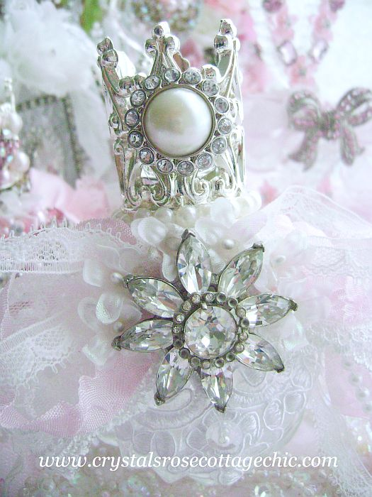 Bejeweled Crown Perfume Bottle